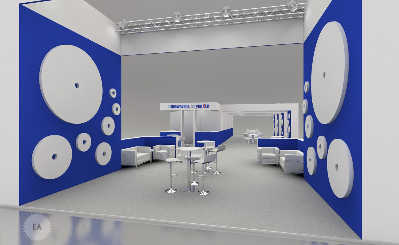 Exhibition booths – ASNONWOVENS
