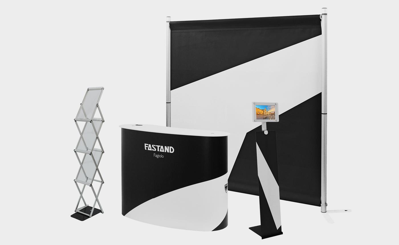 Portatili in valigia – desk Fastand