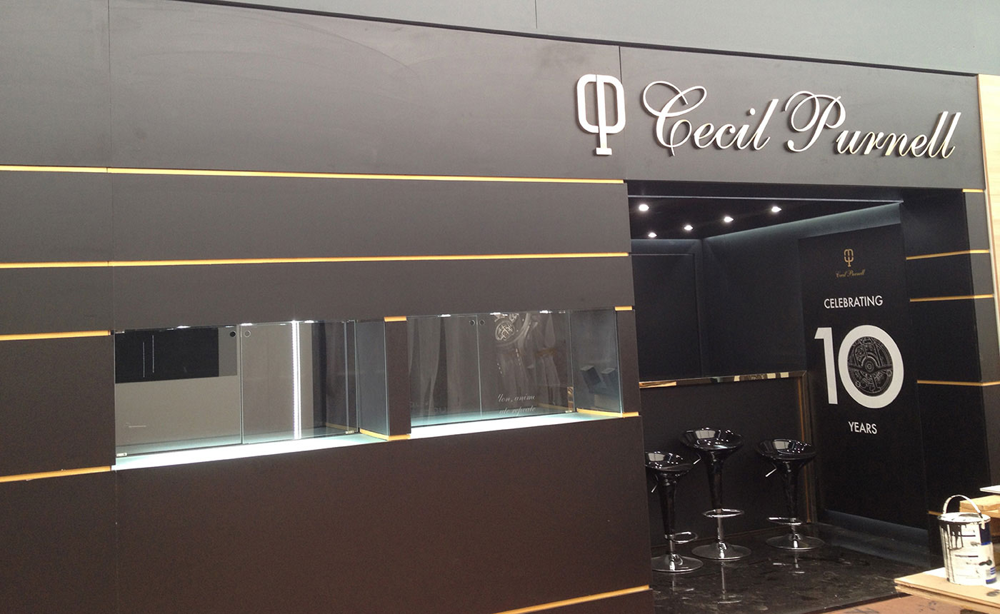 Exhibition booths – Cecil Purnell